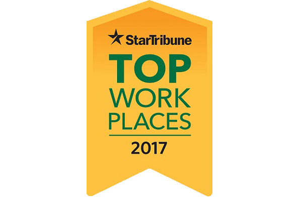 Gassen Company Recognized as a Star Tribune Top Workplaces 2017!